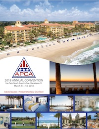 APCA 2018 Annual Convention